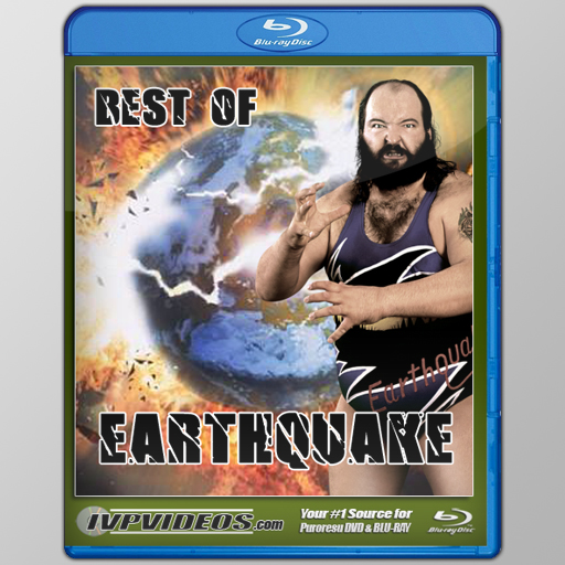 Best of Earthquake (Blu-Ray with Cover Art)
